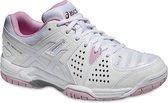 Asics Gel-Dedicate 4  Sportschoenen - Maat 40 - Vrouwen - wit/roze