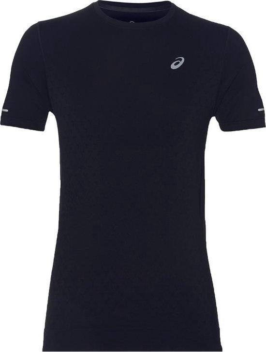 Asics Gel Cool SS Top Tee 2011A314 001, Mannen, Zwart, T shirt maat: M