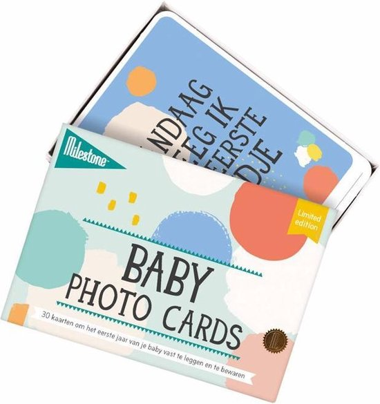 Milestone® Baby Photo Cards - Cotton Candy