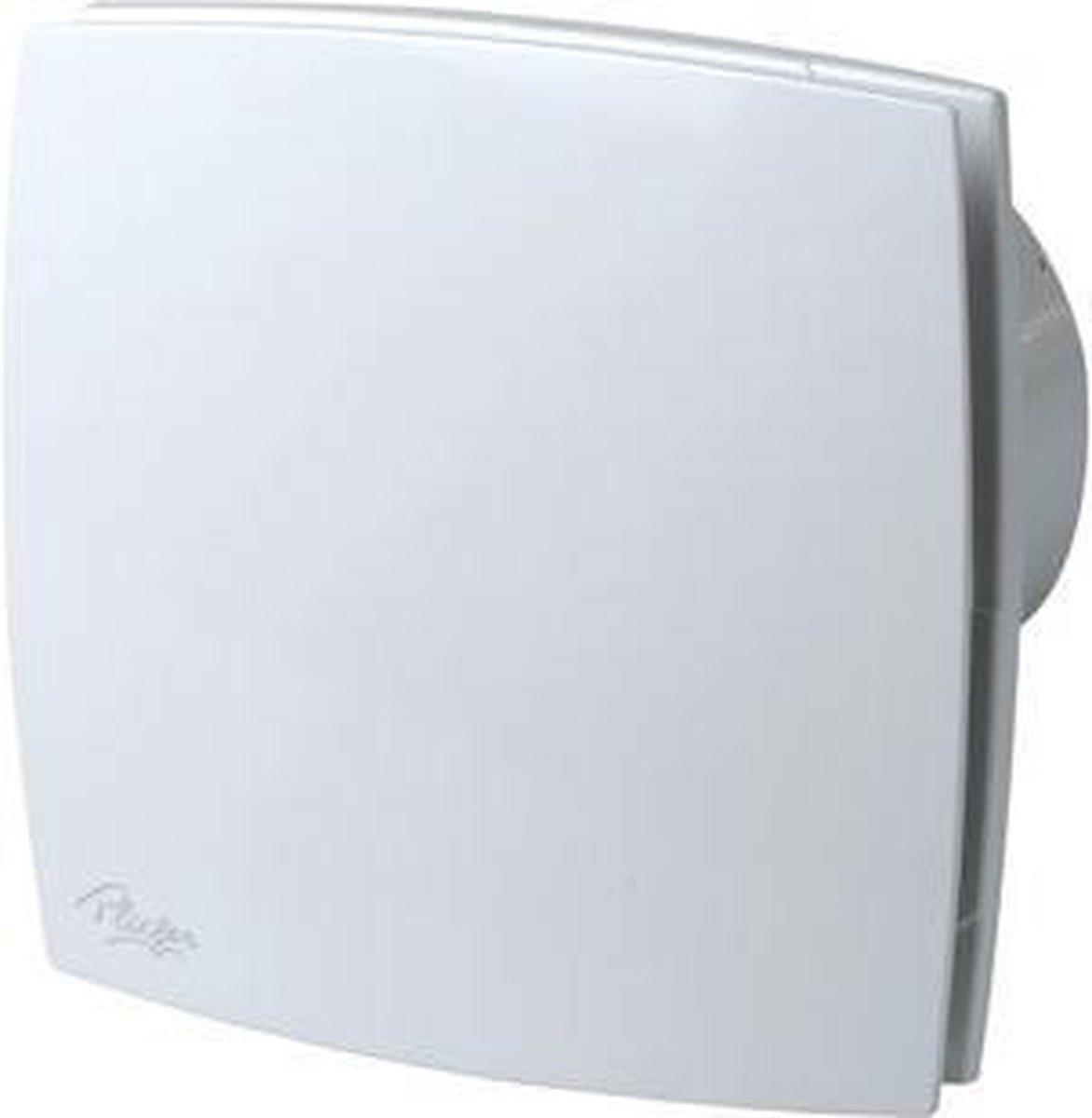 Plieger Design Ventilator met Timer 165 m³ x ø 125 mm Wit