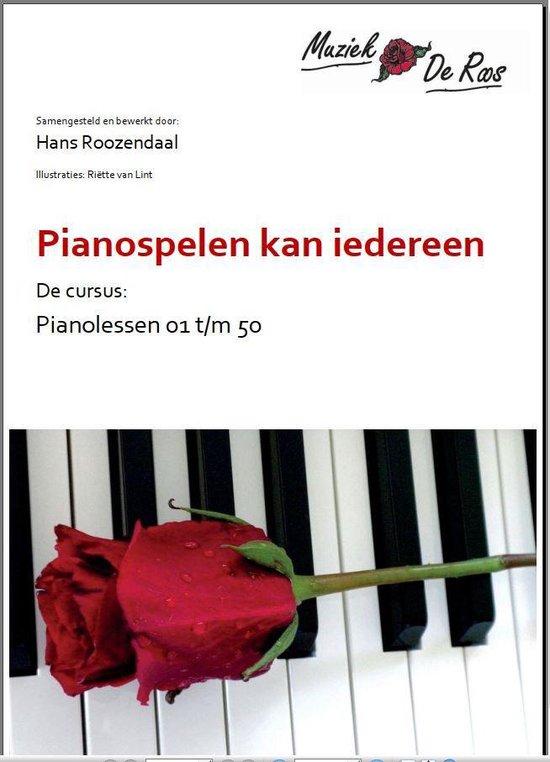 Pianocursus les 1-50 - Muziek De Roos pdf epub