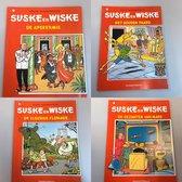 Suske & Wiske deel 1 t/m 4 Shell-uitgave