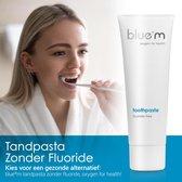 blue®m Fluoride vrije tandpasta 75 ml - bluem tandpasta - Tandpasta zonder fluoride