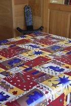 Zomerse Tafellakens - Tafelzeil - Tafelkleed - Duurzaam - Gemakkelijk in onderhoud - Opgerold op dunne rol - Geen plooien - Jungle - 140cm x 160cm