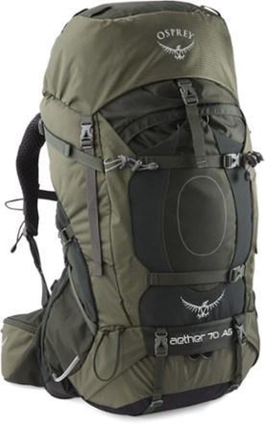 Osprey Aether AG Backpack - Rugzak - 70 Liter - Adirondack Green - Osprey