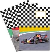 Schriften met Formule 1 raceauto's - 3 stuks A5 Gelijnd