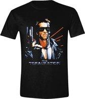 The Terminator - Cover Heren T-Shirt - Zwart - L
