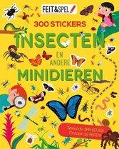 Afbeelding van Kinderboeken Icob Insecten - Feit en spel. Insecten en minidieren (300 stickers) speelgoed