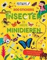 Afbeelding van het spelletje Kinderboeken Icob Insecten - Feit en spel. Insecten en minidieren (300 stickers)