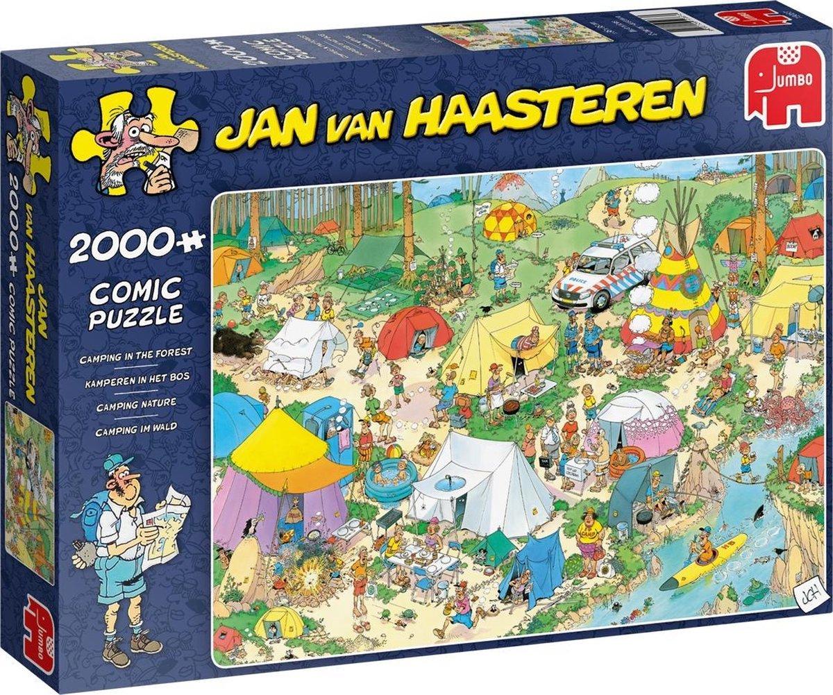 Jan van Haasteren Kamperen in het Bos puzzel - 2000 stukjes