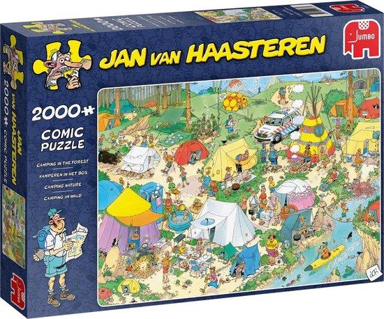 Jan van Haasteren Kamperen in het Bos puzzel – 2000 stukjes