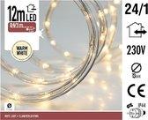 Lichtslang met ledlampjes warm wit - 12 meter slangverlichting