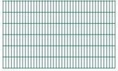 vidaXL Dubbelstaafmatten 2008 x 1230mm 22m Groen 11 stuks