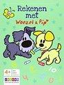 Afbeelding van het spelletje Zwijsen Woezel & Pip rekenen met Woezel & Pip