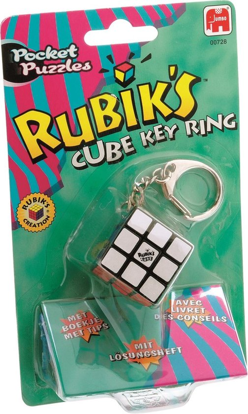 Rubik's Mini Cube Sleutelhanger