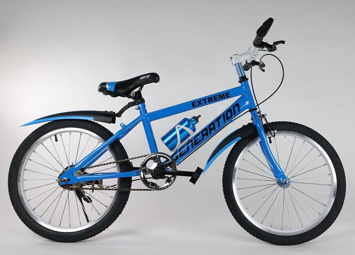 """Generation Extreme fiets 20"""" Blauw"""