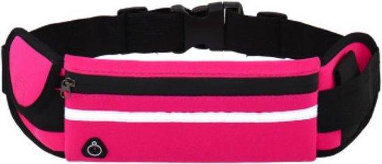 Sens Design hardlooptasje telefoon heuptasje sport running - roze