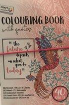 Kleurboek voor volwassenen met quotes - 40 bladen
