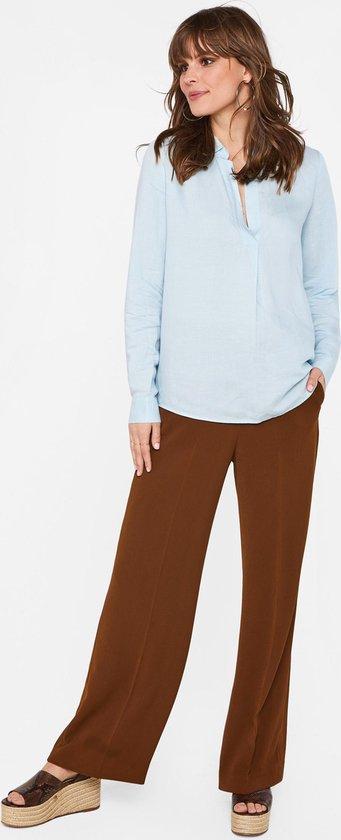 WE Fashion Dames blouse van linnenmix