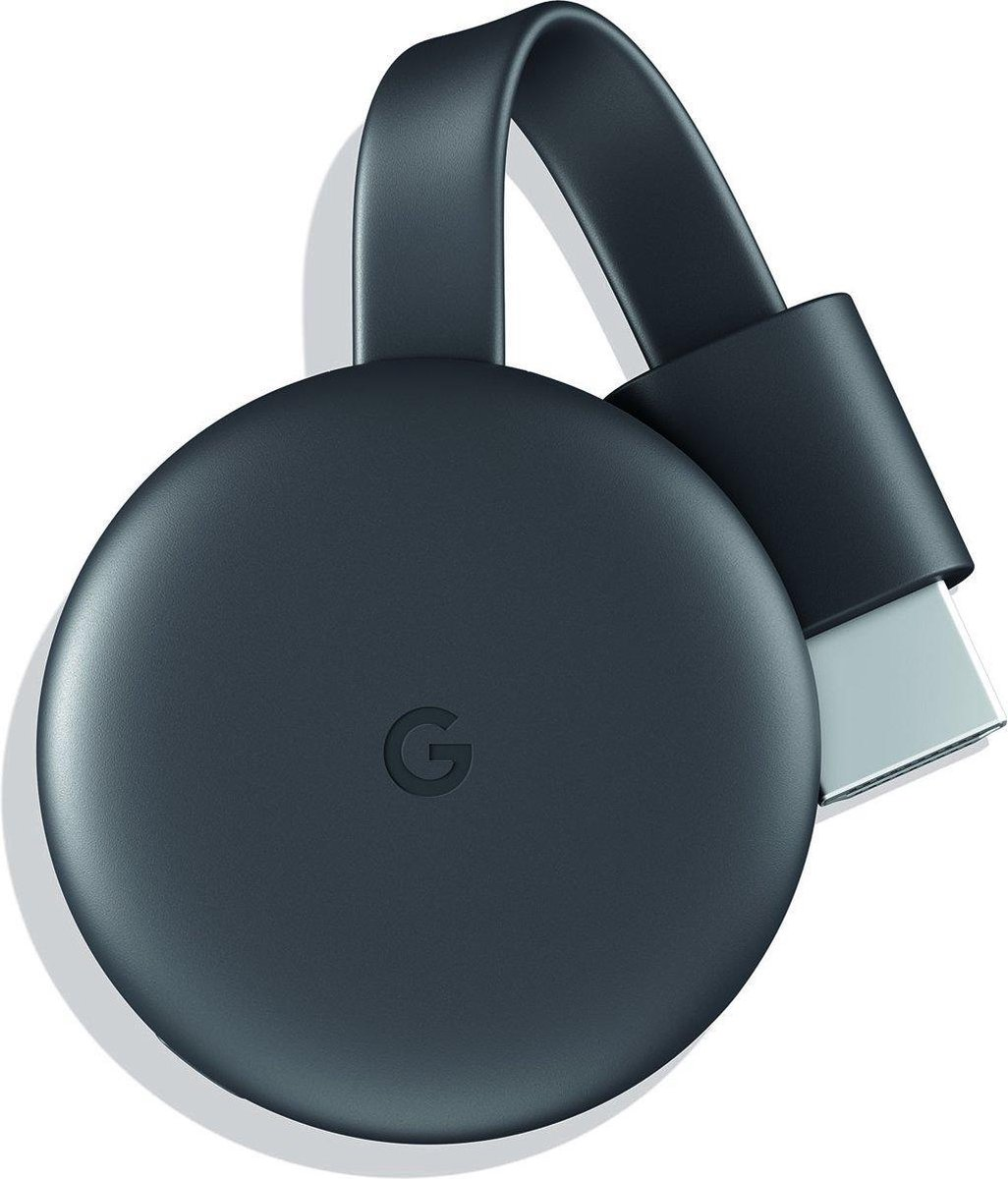 Google Chromecast 3 Smart - TV-dongle - Full HD / Zwart - Google