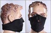 Mondmasker mondkapje gezichtsmasker | Zwart