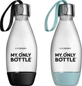 SodaStream My Only Bottles Duopack - Met draagkoordje - 0,5L - 2 flessen