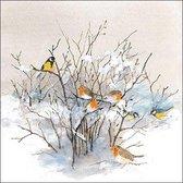 Ambiente Birds On Branches papieren servetten