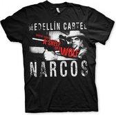 Narcos Medellin Cartel t-shirt heren 2XL