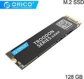 Orico M.2 interne SSD 2280 - 128GB - Troodon serie - 3D NAND flash - Zwart