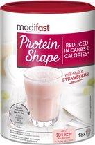 Modifast Protein Shape Milkshake Maaltijdvervanger - Aardbei - 540 gr