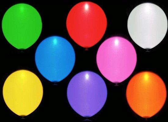 Ravesupply | Led Ballonnen | 5 stuks