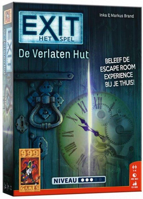 EXIT De Verlaten Hut - Escape Room - Bordspel