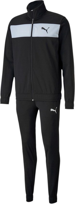Puma Techstripe Trainingspak - Maat XL - Mannen - zwart/wit