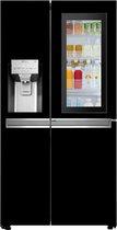 LG INSTAVIEW Door-in-Door GSX960BLACK - Amerikaanse koelkast - Zwart