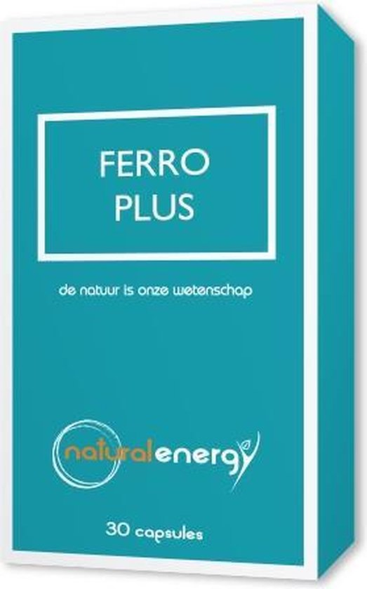 Ferro Plus Natural Energy 30 Capsules