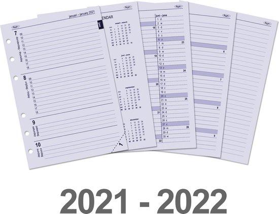 Afbeelding van Kalpa 6207-21-22 A5 organizer week agenda EN-NL 2021 - 2022