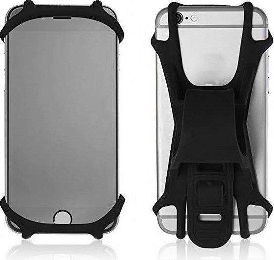 BGoods | Universele telefoonhouder voor de fiets / smartphone houder / schokbestendig / voor elk stuur
