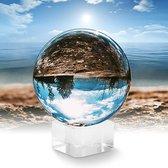 Lensball 80mm - Fotografie - Glazen Bol - Bal - Lensbal - 80 mm - 8 cm - Fotobol - Foto - Camera - Fotografie - Kristallen Bal - Glazen - Foto - Inclusief Berschermzak
