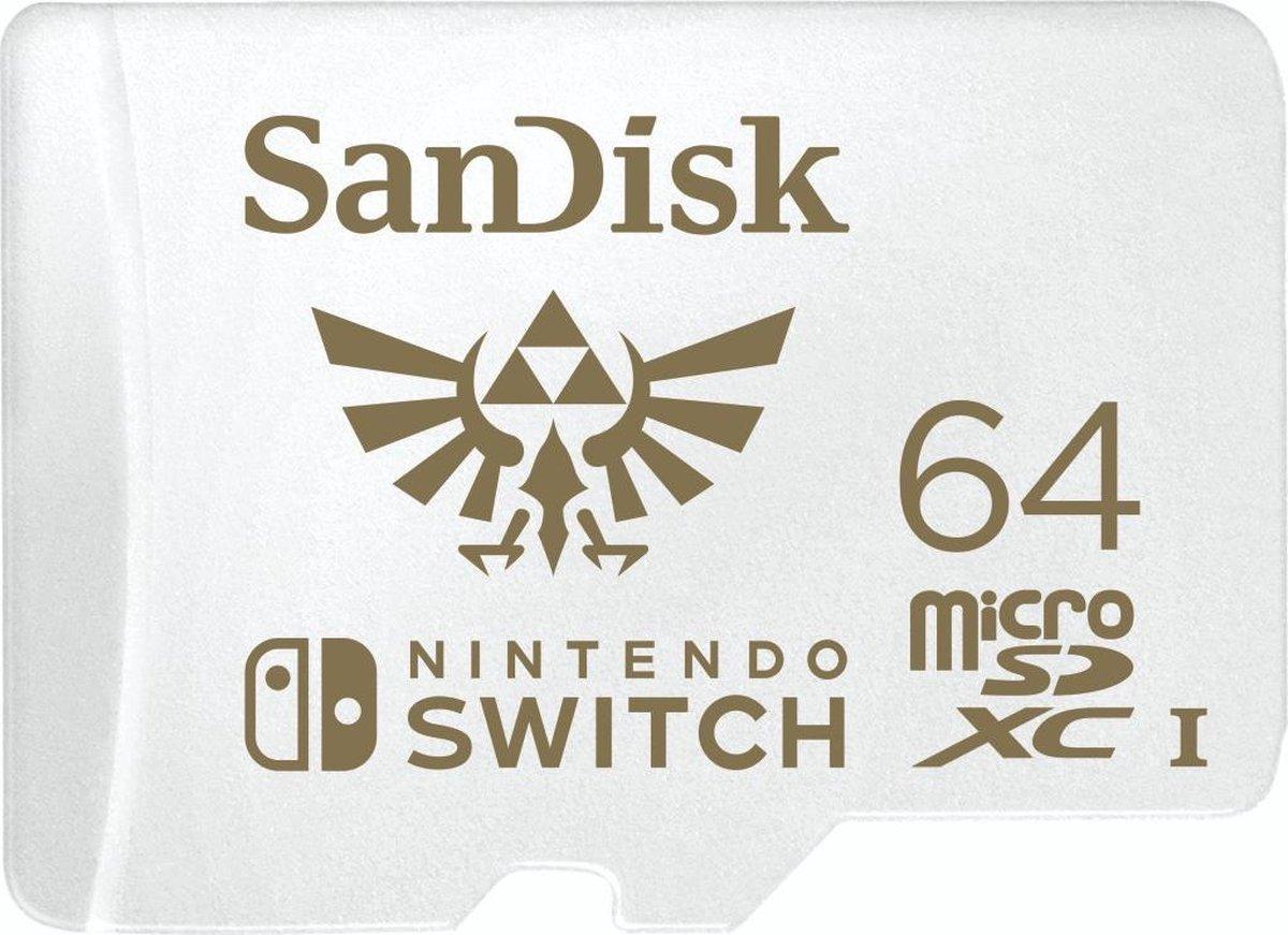 SanDisk Extreme Micro SDXC 64 GB voor Nintendo Switch