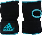 adidas Basic Vechtsporthandschoenen - Unisex - zwart/blauw