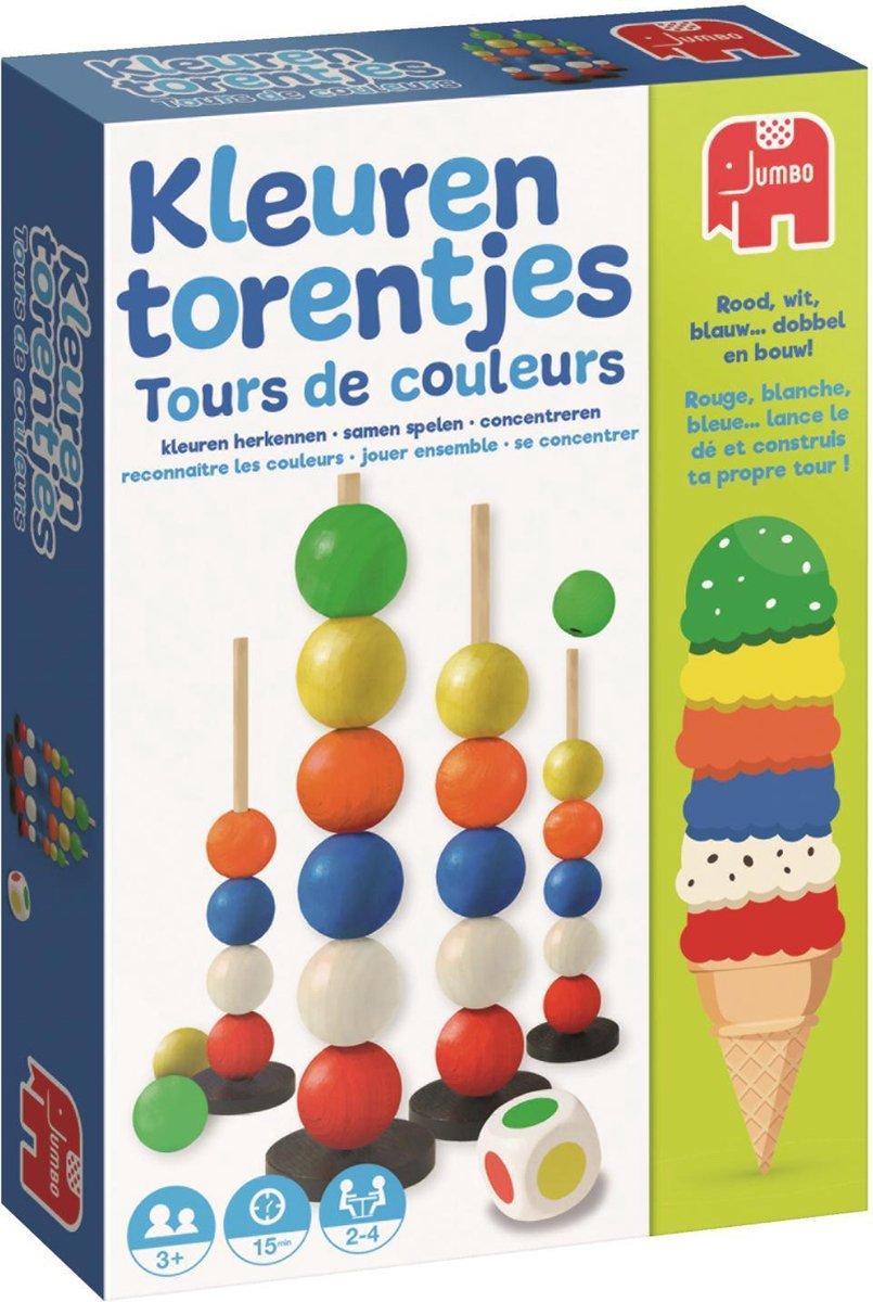 Verbazingwekkend bol.com | Kleurentorentjes Kinderspel Kleuren Leren | Games QK-64