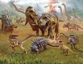 Walltastic Dinosaur Land - XXL Posterbehang - dinosaurus behang - Kinderkamer - 305 x 244 cm