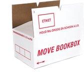 Boekendozen pakket 10 stuks - 40 Liter