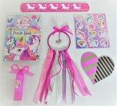 Jewellicious Designs Knutselpakket Unicorn dromenvanger roze DIY