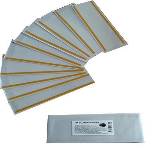 10x bedwants strips 200X70MM | Bedwantsvallen | Bedwantsval | Monitoringstrips