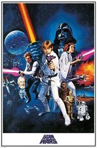 Star Wars Poster Style 'C' -  IV- a New Hope George Lucas-Darth Vader  61 x 91.5 cm