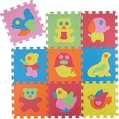Puzzelmat Dieren Afbeeldingen  - Speelkleed Voor Kinderen - Foam Speelmat 27 x 27 CM