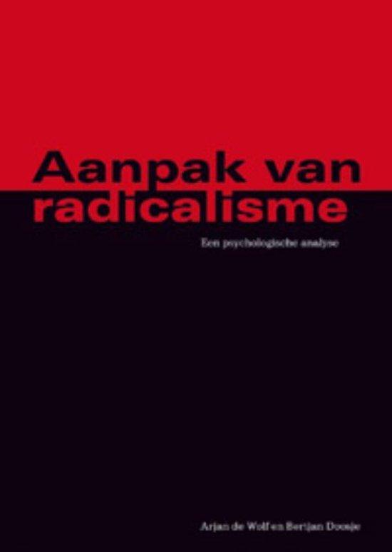 Aanpak van radicalisme - Arjan de Wolf  