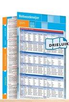 Werkwoordenwijzer Spaans - nieuwe editie uitklapkaart