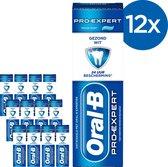 Oral-B Pro-Expert Gezond Wit - Voordeelverpakking 12x75 ml - Tandpasta